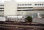 MTA 7395at Kawasaki plant, from Amtrak train.